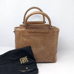 NWT FRYE $358 TOTE PURSE LEATHER BRAND NEW